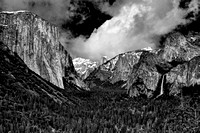 The classic shot of Yosemite Valley.